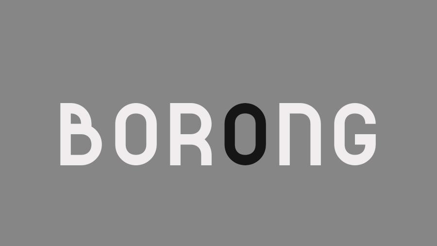 Borong font